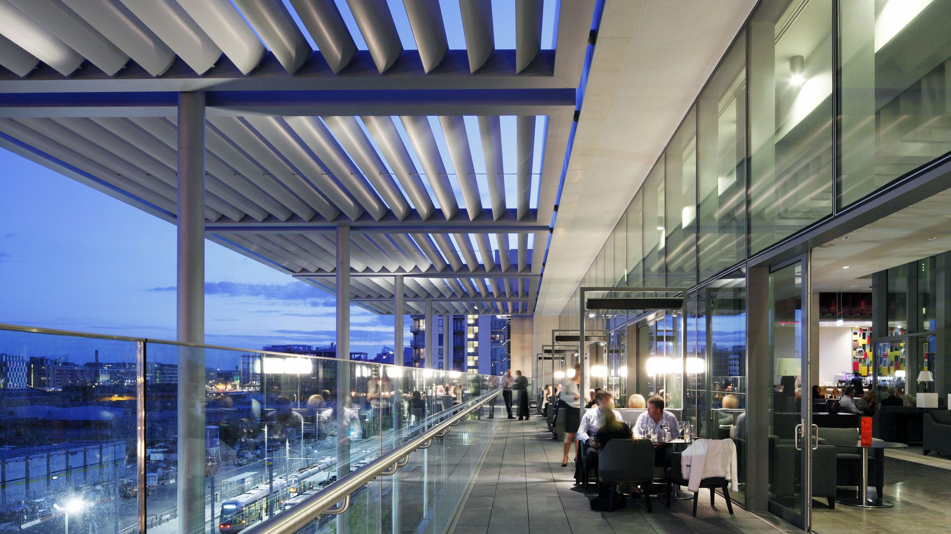 Heated Terrace at The Gibson