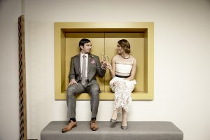 Wedding in a box at The Gibson