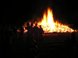 Bonfire for halloween