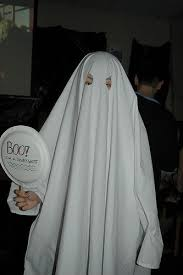 Ghost costume for Halloween