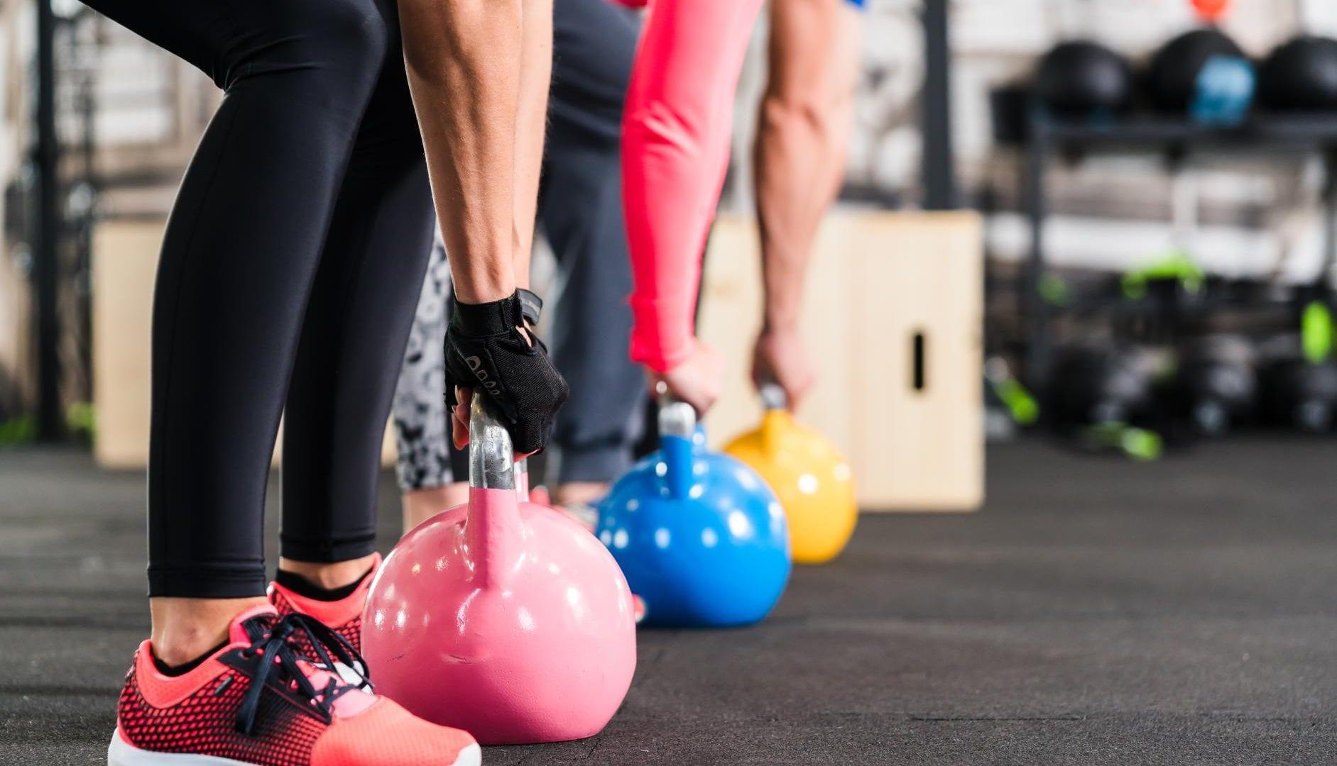 Gym Kettlebell Fitness