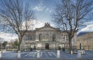 Kilmainham Gaol is a former prison in Kilmainham, Dublin, Ireland