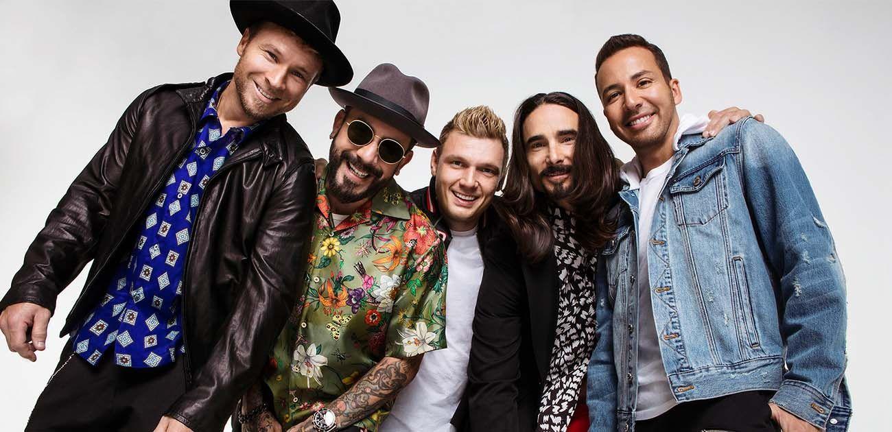 Backstreet Boys 3 arena Dublin