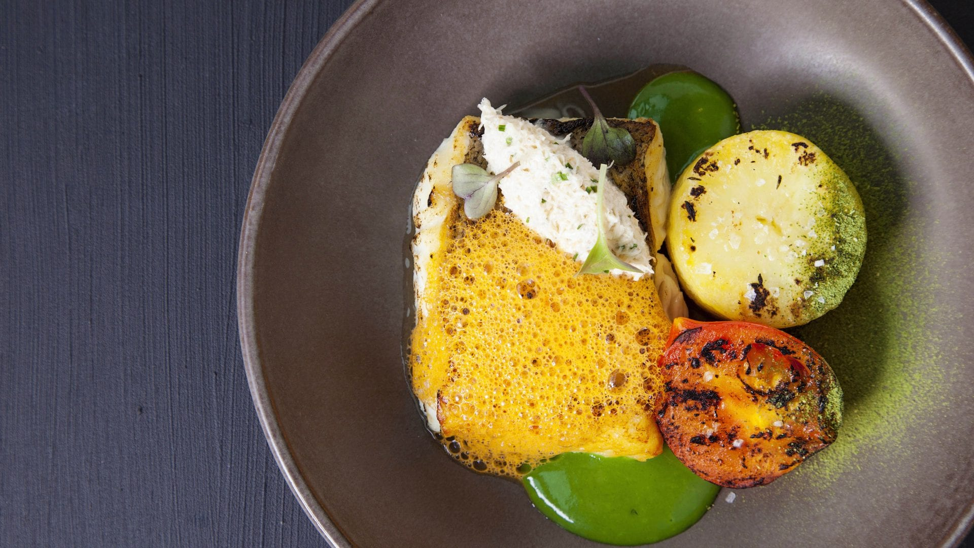 pan-roast hake from coda eatery created by chef igor cikarev at the gibson hotel