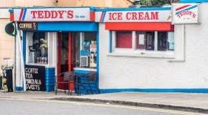 Teddys ice-cream shop Dun Laoghaire